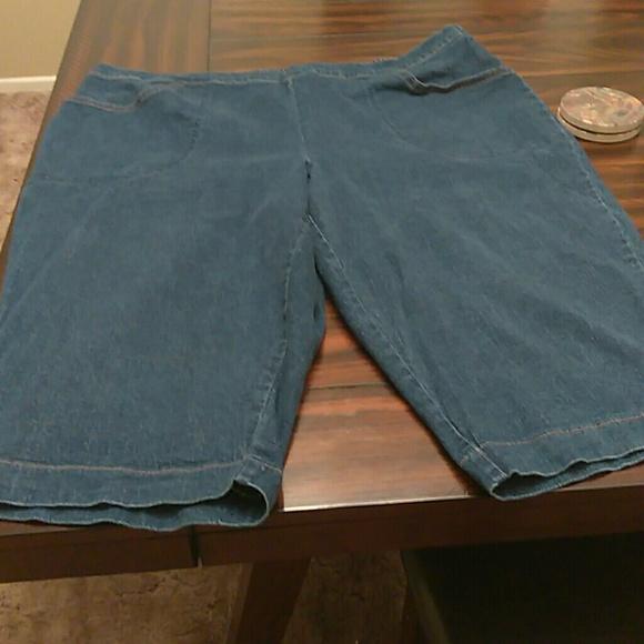 66cb7c701c0 Just My Size Pants - JMS Denim Capris 3x